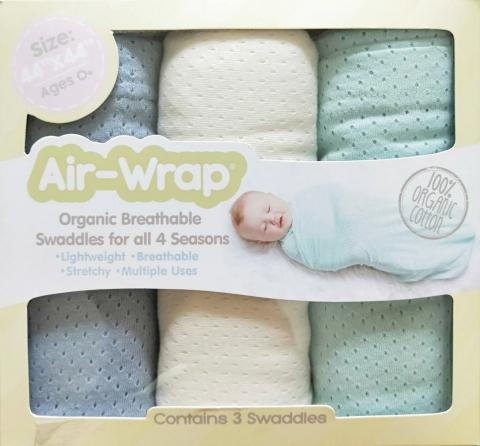 美國Woombie 100%有機綿多用途包巾 1