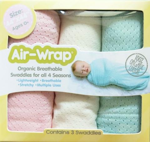 美國Woombie 100%有機綿多用途包巾 2